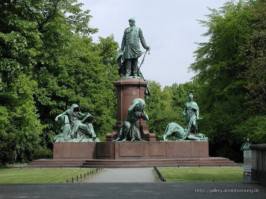 Bismarck Denkmal Berlin Bismarck-denkmal Vor Der