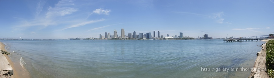San Diego Bay Panorama