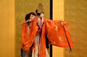 Japanese puppet theater (Bunraku)