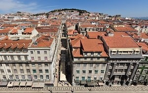 Baixa panoramic rectilinear