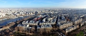 Tour Eiffel 2nd level panoramic