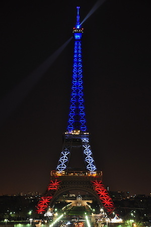Eiffel Tower Lightshow