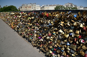 Locks at the Seine