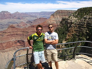 Me and Mike at the Grand Canyon