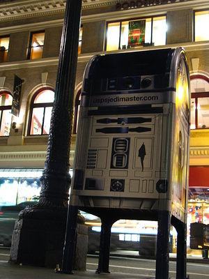 R2D2 Mailbox. Picture by Mike.