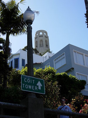 Stairs to the Coit Tower