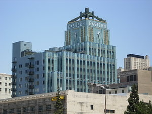 Downtown LA: Eastern Columbia Building