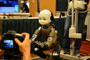 The iCub robot at IROS