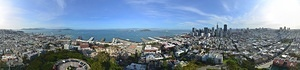 San Francisco 360 Panorama