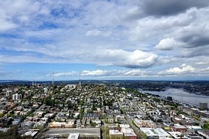 Queen Anne, from Space Needle