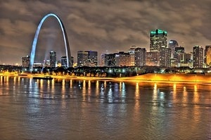 St. Louis Skyline HDR