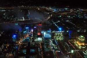 From the top of Taipei 101