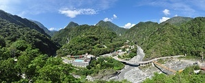 Taroko National Park Panorama