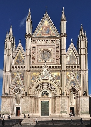 Orvieto Cathedral, front facade
