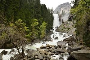Vernal Fall at the Mist Trail