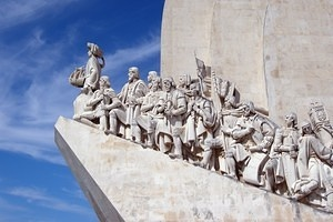 Monument to the Discoveries in Belém, eastern side